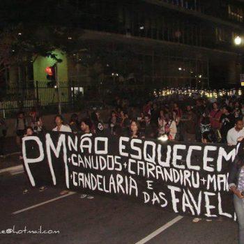 Marcha Nacional Contra o Genocídio da Juventude Negra - SP | Fonte: Uneafro