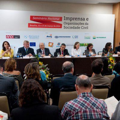 Seminário Imprensa e Organizações da Sociedade Civil