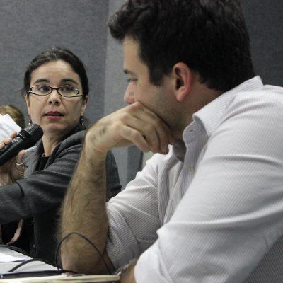 """Alessandra Nilo, diretora estadual da Abong-PE: """"se não entramos no debate para avançar, mas para apenas evitar retroceder em algumas questões, já entramos perdendo""""."""