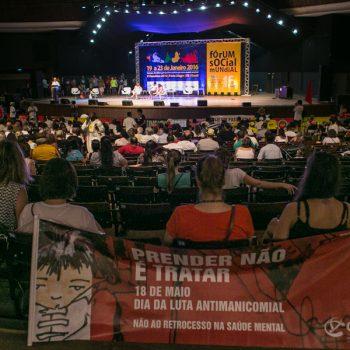 23/01/2016 - PORTO ALEGRE, RS - Plenária dos movimentos sociais do Forum Social Mundial. Foto: Guilherme Santos/Sul21