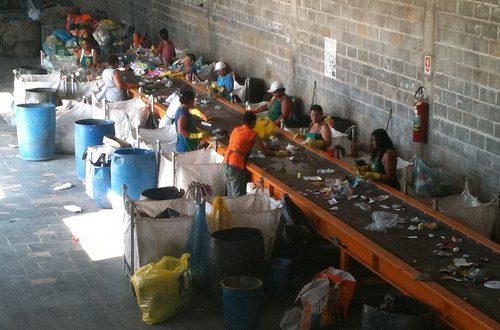 Cooperativa concentrou-se na seleção e venda de materiais