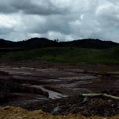 Bento Rodrigues, o primeiro distrito de Mariana atingido pela Lama, foi totalmente destruído