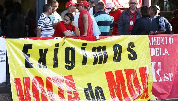 Ocupantes do Incra pedem a recriação do Ministério do Desenvolvimento AgrárioMarcelo Camargo/Agência Brasil