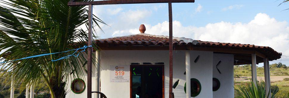 Entrada do Banco Comunitário de Sementes Crioulas (Foto: Romário Henrique/Serta)
