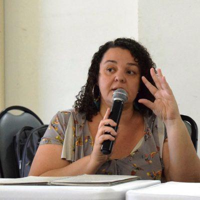 Valquíria Lima defende as políticas de convivência com o Semiárido (Foto: Ellen Dias)