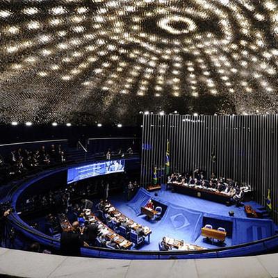 Votações seguem até quinta-feira (24), quando está prevista a votação do projeto que trata de mudanças no Sistema Tributário Nacional (Foto: Edilson Rodrigues/Agência Senado)