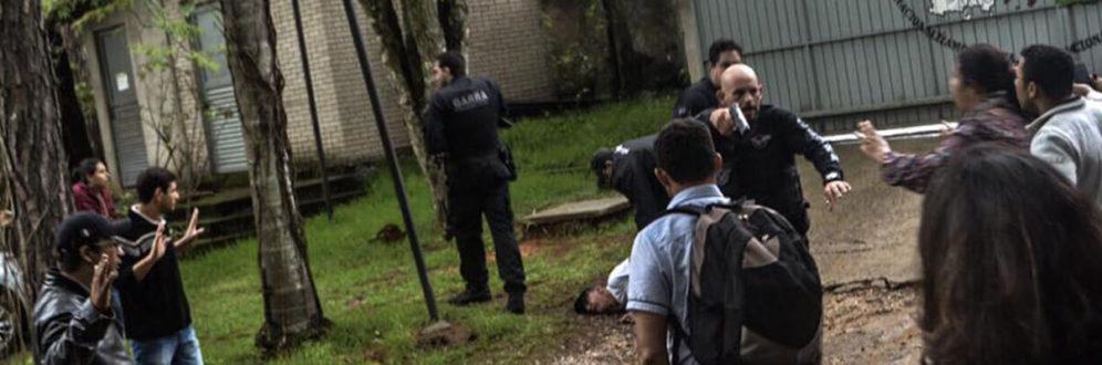 Polícia invade escola do MST; uma pessoa fica ferida
