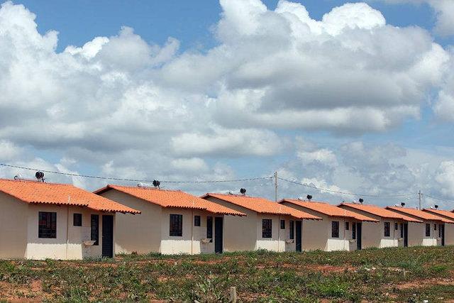 Unidades habitacionais do MCMV (Foto: Bruno Peres/Ministério das Cidades)