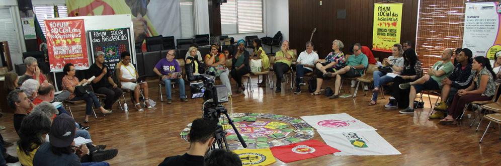 Seminário em Porto Alegre reuniu movimentos na resistência por direitos
