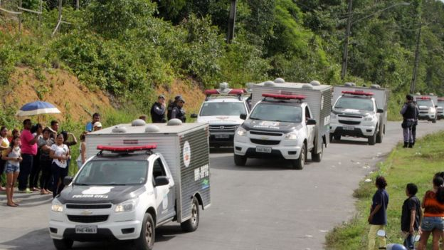 Padre diz que presídio onde ocorreu matança em Manaus é uma 'fábrica de tortura' (Foto: AFP)