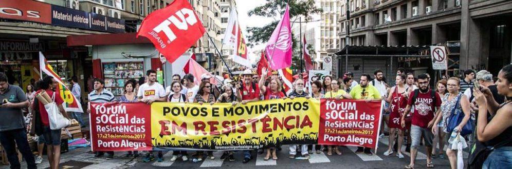Fórum Social das Resistências cobra fim dos retrocessos em sua marcha de abertura