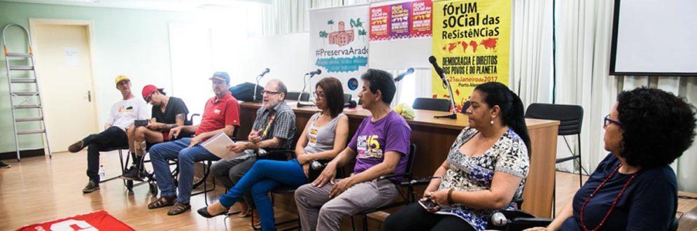 Fórum Social das Resistências começa hoje em Porto Alegre