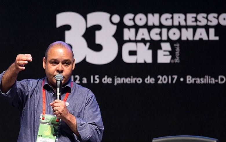 Presidente da CUT, Vagner Freitas, convoca a classe trabalhadora a enfrentar as retiradas de direitos que o governo ilegítimo de Temer está tentando impor, com apoio do Congresso (Foto: Lula Marques/Agência PT)