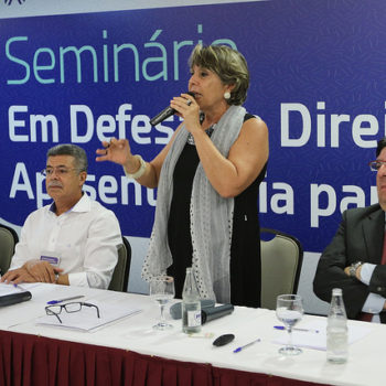 PEC 287 tem mobilizado diversos setores da sociedade civil organizada que pedem valorização da previdência social (Foto: Augusto Coelho/Fenae)