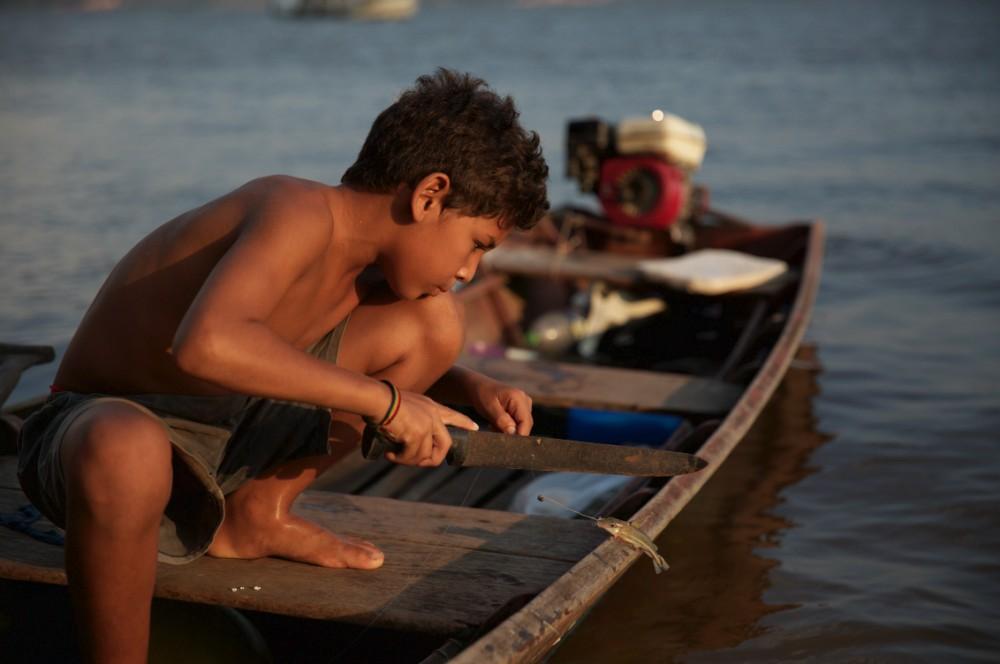 """Na Amazônia, o rio é a 'alma' da vida animal e humana"" (Foto: Mayangdi Inzaulgarat)"
