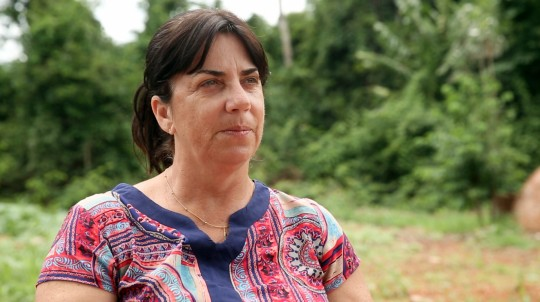Solange Arrolho, especialista em peixes (Foto: Thaís Borges)