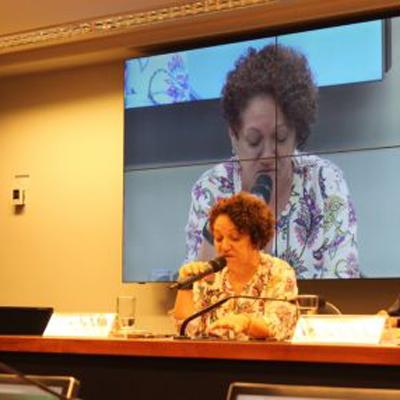 Eleutéria Amora, diretora executiva da Abong (Foto: Acervo Abong)