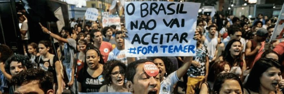 Para Frente Brasil Popular, a saída é democrática: Diretas Já e Não às Reformas