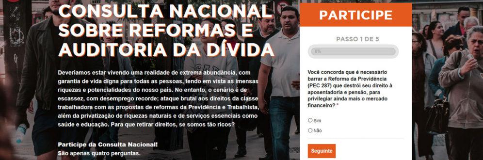 Pesquisa e consultas revelam que a maior parte dos/as brasileiros/as é contra reformas de Temer
