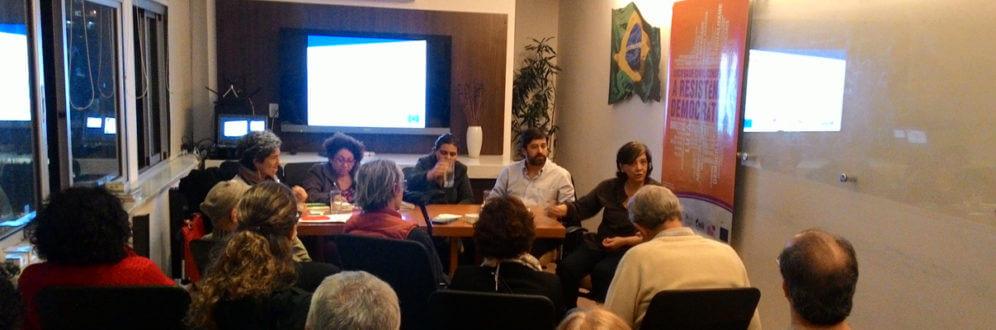 Debate sobre conjuntura de retrocessos em direitos marca o lançamento do Projeto Sociedade Civil Construindo a Resistência Democrática