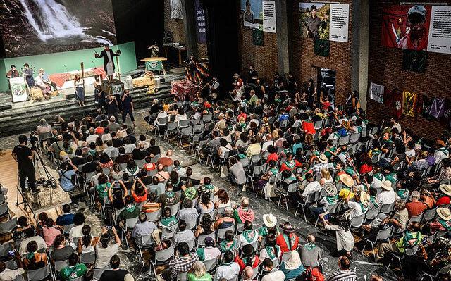 A atividade reúne cerca de 450 movimentos camponeses de diversas partes do mundo / La Via Campesina