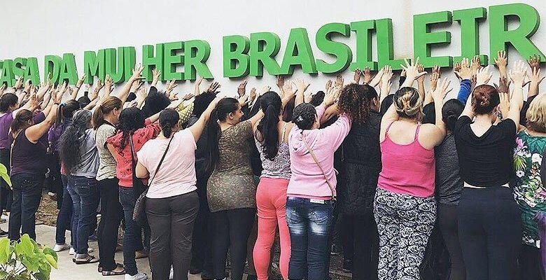 """Mulheres realizam """"inauguração popular"""" da Casa da Mulher Brasileira em São Paulo"""