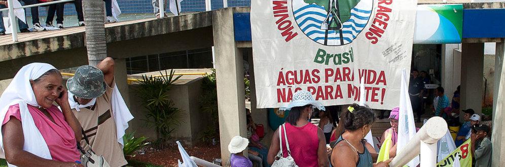 Contra a privatização da água, atingidos por barragens se mobilizam em todo Brasil