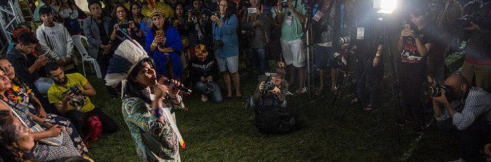 Acampamento Terra Livre 2018 reúne 3,2 mil indígenas em Brasília