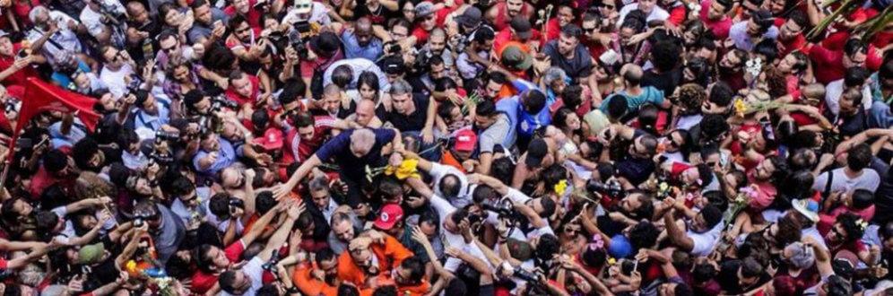 Três dias, milhares de Lulas