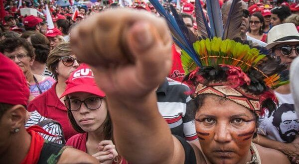 Coragem: outro mundo é possível (foto: Guilherme Santos/Sul21)