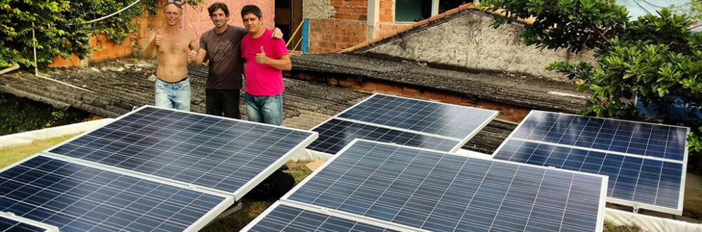 O Brasil e a energia solar
