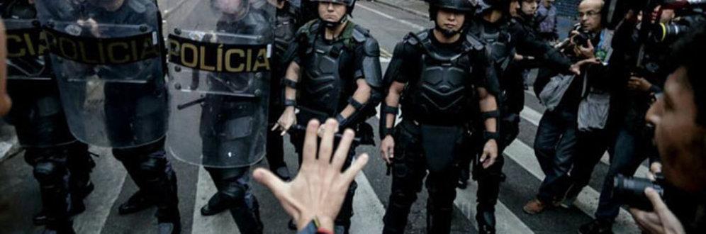 Segurança pública em SP Foto: Mídia Ninja