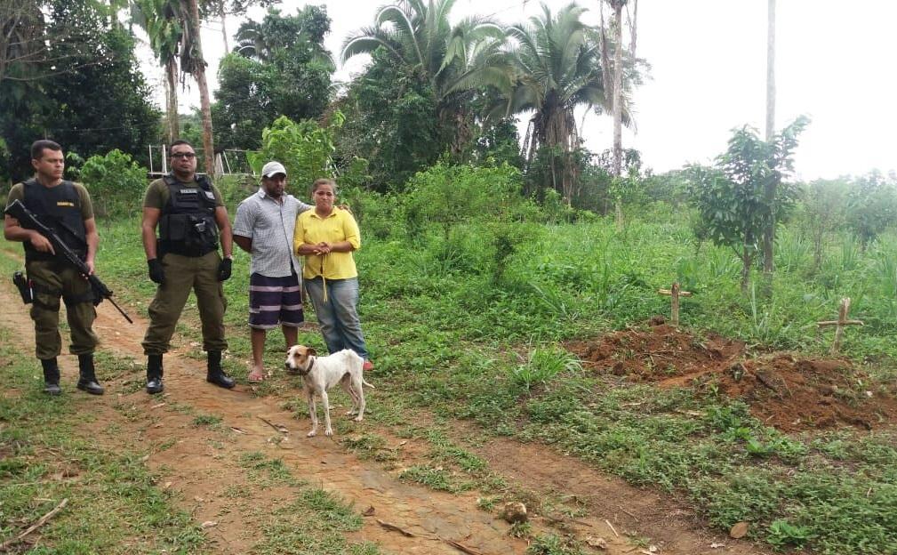 Osvalinda e Daniel registraram boletins de ocorrência na delegacia de Trairão contra as ameaças   Foto: Ministério Público Estadual do Pará