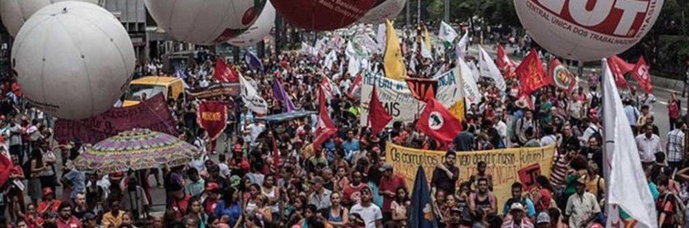 'Dia do Basta': centrais e frentes populares protestam contra o desemprego