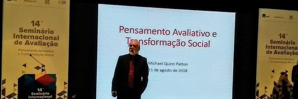 Michel Quinn Patton: Avaliar para aprender, aprimorar e transformar