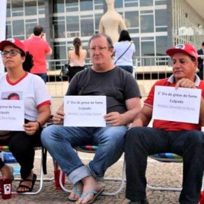 O povo acordou, diz grevista de fome Foto: Adilvane Spézia