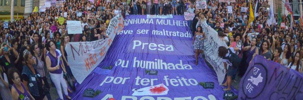 'O medo ronda a vida sexual das mulheres', diz ativista da SOS Corpo Foto: Mídia Ninja