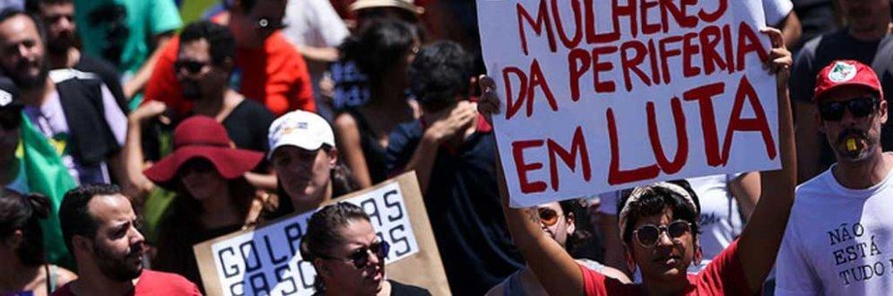 Grito dos Excluídos faz 'desfile popular' no Dia da Independência