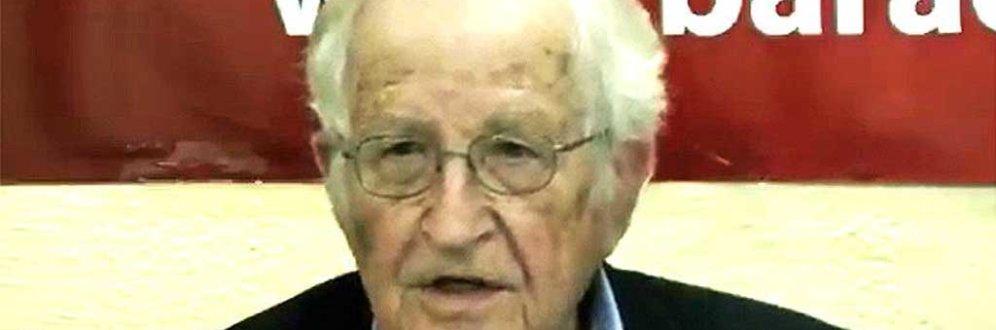 Noam Chomsky compara projeto econômico de Bolsonaro ao da ditadura chilena Foto: Reprodução