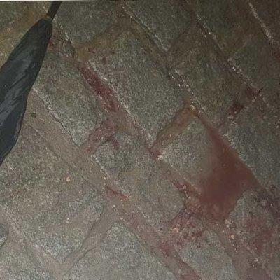 PM confunde guarda-chuva com fuzil e mata garçom no RJ, afirmam testemunhas Foto: Reprodução/Twitter
