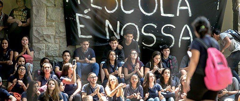 Movimento dos secundaristas: juventude em luta (Foto: RBA)