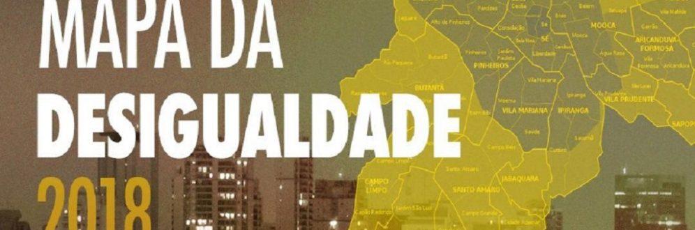 Mapa da Desigualdade revela diferenças brutais entre as regiões da cidade de SP