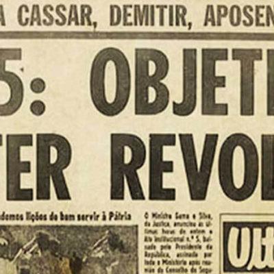 Há 50 anos, AI-5 dava início aos tempos mais sombrios da ditadura Foto: reprodução