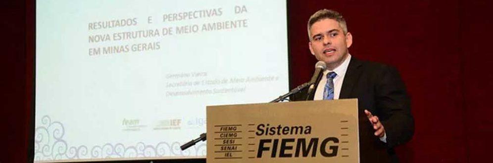 Secretário de Meio Ambiente reduziu critérios de risco de barragens em Minas Gerais