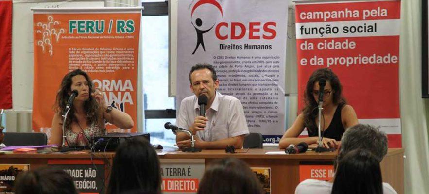 Construir cidades mais justas é a luta do Centro de Direitos Econômicos e Sociais
