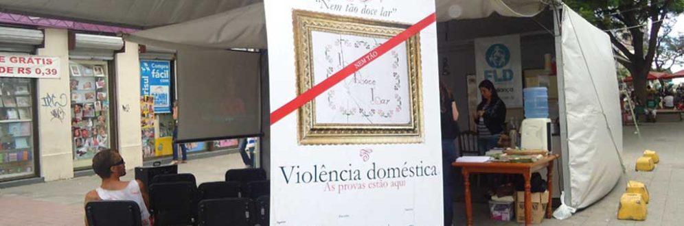Nem tão Doce Lar: exposição interativa pela superação da violência contra as mulheres