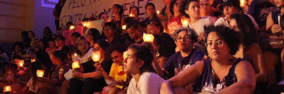 Vigília pelo fim da violência contra as mulheres volta às ruas de Pernambuco