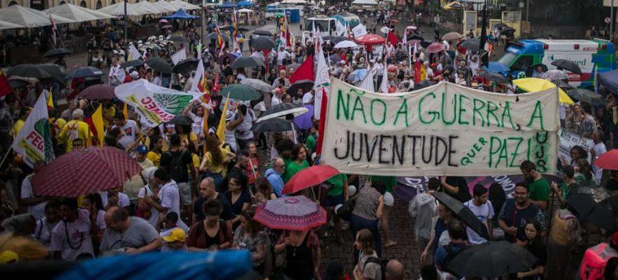 Sob o signo da unidade, marcha une luta contra intolerância religiosa e Fórum Social das Resistências