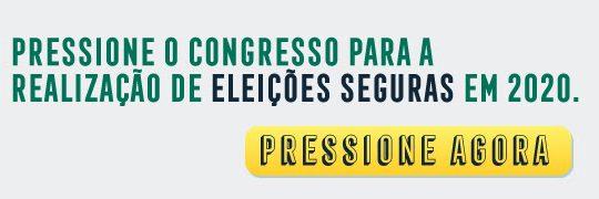 ELEIÇÕES SEGURAS 2020 – DEMOCRACIA É ATIVIDADE ESSENCIAL