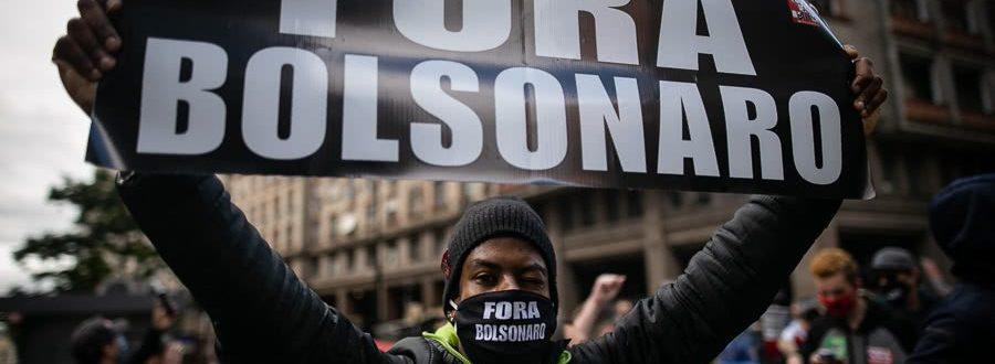 A soberania popular está morrendo. Fora Bolsonaro!